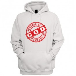 Powered by god  hoodie